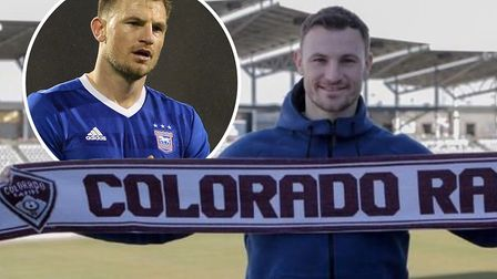 Tommy Smith has been training at Ipswich Town since the MLS season ended. Picture: COLORADORAPIDS/AR