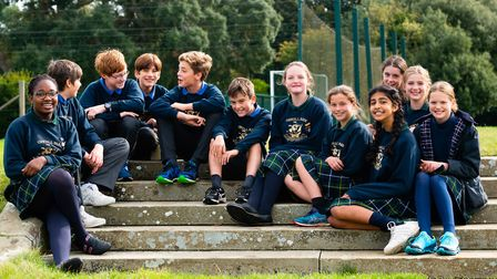 Children who board learn how to live as a community. Picture: Orwell Park School / Tom Soper