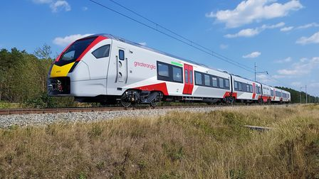 Greater Anglia have only recently introduced their new fleet of trains Picture: GREATER ANGLIA