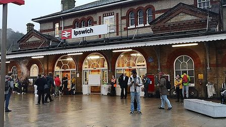 Services to and from Ipswich train station have been disrupted Picture: ARCHANT