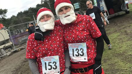 The charity run raises funds for the St Nicholas Hospice. Picture: Victoria Pertusa