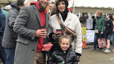 Thousands of people turned up to Lavenham over the weekend to enjoy the Christmas Market. Picture: V