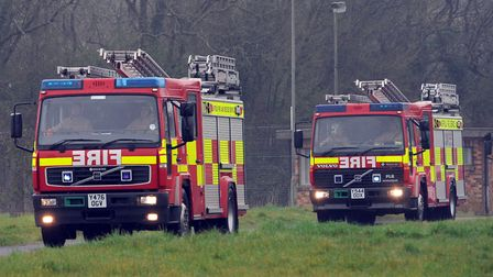 Firefighters tackled a chip pan blaze at a home in Essex Picture PHIL MORLEY