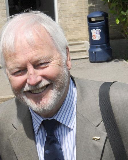 Dad's Army star Ian Lavender officially opened the equipment Picture: ARCHANT