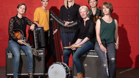 The Shee are performing at FolkEast in 2020 Photo Sean Purser