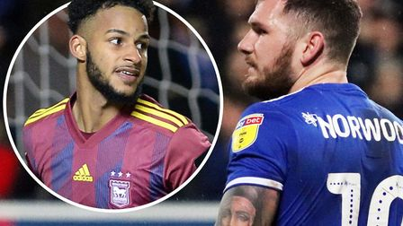 Barry Cotter and James Norwood could potentially be in the Ipswich Town squad to face Coventry tonig