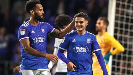 Jordan Roberts and Armando Dobra could both be involved for Ipswich Town. Picture: Steve Waller