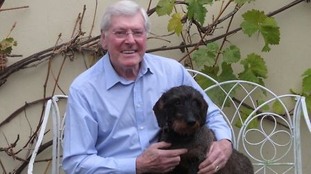 Dog lover Peter Purves who has been axed from the commentary team for Crufts, Picture: PETER PURVES