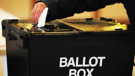 Who can you vote for on Thursday? Picture: PRESS ASSOCIATION