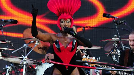 Grace Jones gave documentary film-maker Sophie Fiennes complete access to her life for 12 years in o