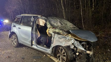 The crash happened on the A12 close to Colchester Picture: PC TOM RAES