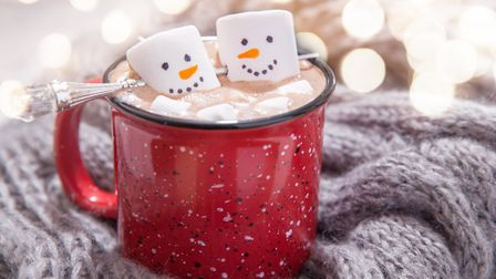 Warm up with a hot chocolate this festive season Picture: Getty Images/iStockphoto