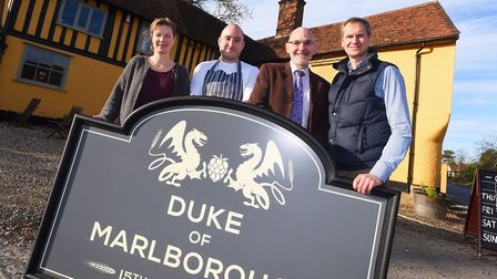 The Duke of Marlborough pub in Somersham has been recognised in CAMRA's 12 Pubs of Christmas list P