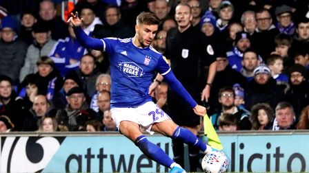 Luke Garbutt's goal was too little, too late in the FA Cup replay defeat to Coventry. Photo: ROSS HA
