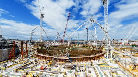 Work is underway at Hinkley Point C in Somerset Picture: EDF ENERGY