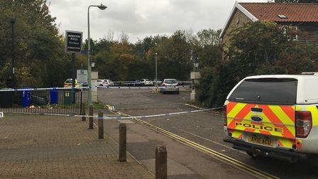 The scene at the Moreton Hall pub in October Picture: ARCHANT