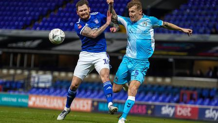James Norwood hasn't found the net since the win at Southend at the end of October.Picture: Steve