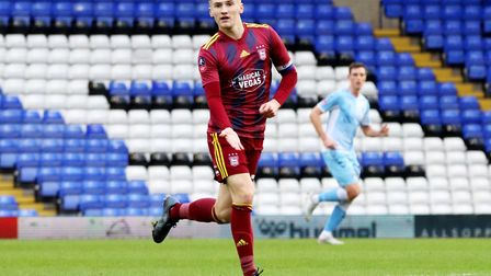 Flynn Downes became Ipswich Town's youngest ever captain in the 1-1 FA Cup draw with Coventry City r