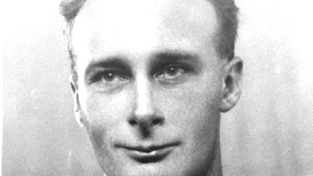 A service record photograph of Julian Tennyson. He had no qualms about fighting for his country Pic