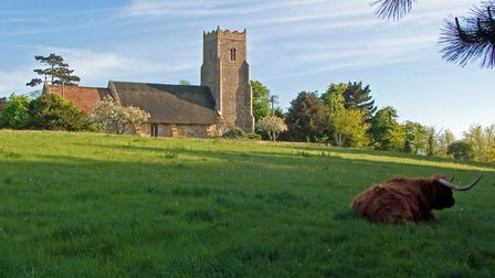 Iken church. Julian Tennyson wrote that 'When I was a child I decided that here was the place for me