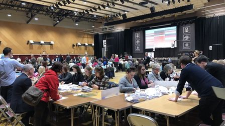 Colchester's voters went to the polls for the third general election in five years Picture: JAKE FOX