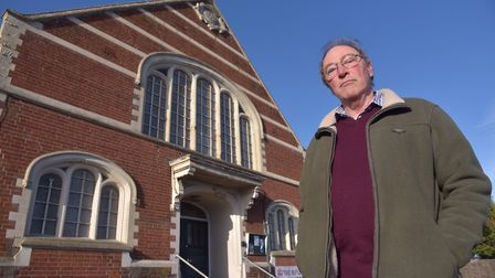 Simon Weeks is appealing for more people to invest and make use of the hall Picture: SONYA DUNCAN