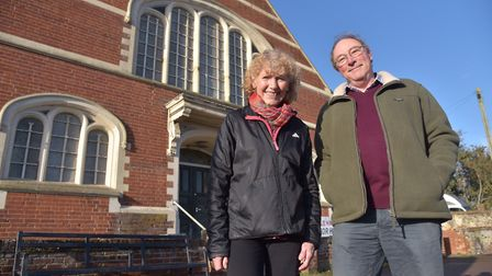 Rifle Hall in Halesworth will have to close if funding and support isn't found soon. Trustees Barbar
