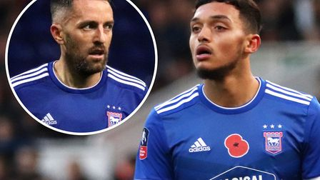 Paul Lambert has challenged Andre Dozzell to fill the shoes of veteran midfielder Cole Skuse at Ipsw