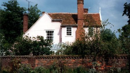 Hall Mill at Long Melford, the home of Edmund Blunden Picture: ARCHANT