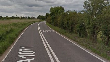 Drivers heading between Ipswich and Hadleigh via the A1071 are facing delays due to a suspected coll