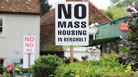 East Bergholt Parish Council have had their appeal against the 200 homes rejected. Picture: ARCHANT
