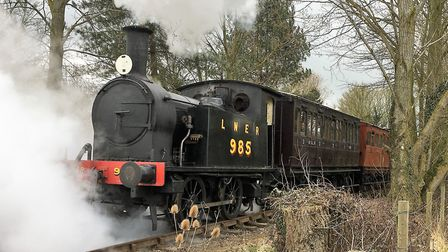 The Mid Suffolk Light Railway is operating on New Year's Day. Picture: PAUL GEATER