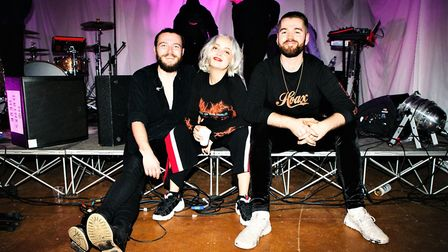 Caswell and her fellow band members have achieved great success this year with even bigger hopes and