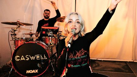 """""""Suffolk has been such an integral part of cultivating my live set,"""" said Caswell after her homecomi"""
