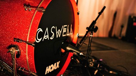 Caswell was supported by Hoax, the Suffolk based clothing brand, a favourite with Ed Sheeran. Pictur