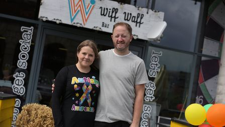 Wiff Waff is one of Ipswich's newest bars, having opened at the end of last year (2018) near the Wat