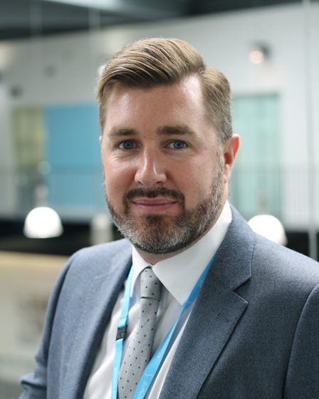 Alan Pease, deputy principal of Suffolk New College Picture: SUFFOLK NEW COLLEGE