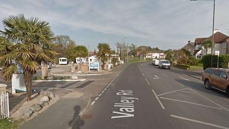 The stabbing victim was approached as he walked along Valley Road near to the Valley Farm Caravan Pa