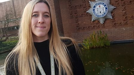 DI Holly Evans of Suffolk Constabulary Picture: RACHEL EDGE