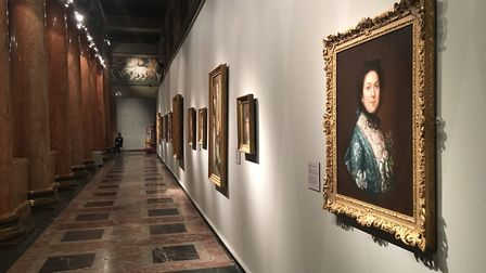 The display of Gainsborough's works is a first in Russia Picture: MARK BILLS