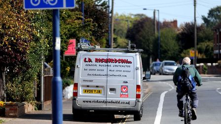 The funding could be used for new cycle lanes in Suffolk Picture: GREGG BROWN