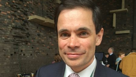Robin Millar has stood down from West Suffolk and Suffolk County councils after securing a seat at P