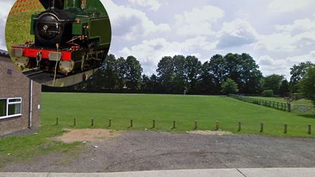 Plans for a new ride-on train for children in Norton have been submitted. Picture: GOOGLE MAPS/ASHLE