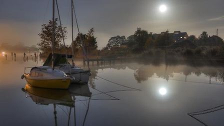 Richard Sagom of Oulton Broad picked up third place Picture: RICHARD SAGOM