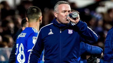 Town manager Paul Lambert takes a drink. He knows it's a fickle old business. Picture: Steve Waller