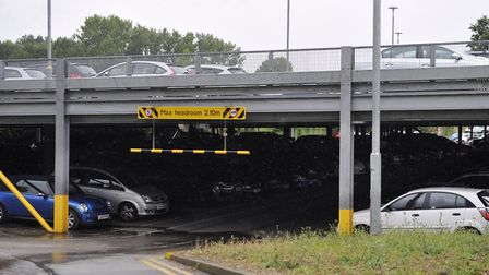More car parking spaces have been created at Manningtree railway station. Picture: SU ANDERSON