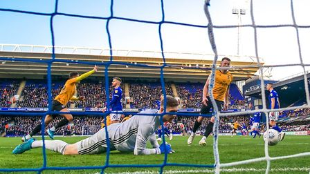 Ipswich Town lost 2-1 to Bristol Rovers last time out at Portman Road. Photo: Steve Waller