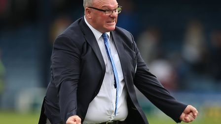 Gillingham manager Steve Evans was involved in a war of words with Ipswich counterpart Paul Lambert