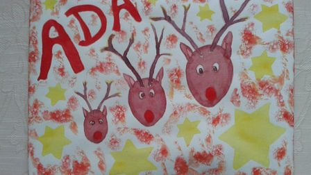 Tina and her family have used brown paper to wrap presents, with her children decorating it and pers