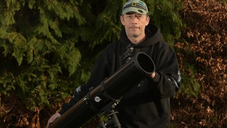 Astronomer, Neil Norman, says 2020 will be a year of astronomical delight over Suffolk Picture: SAR